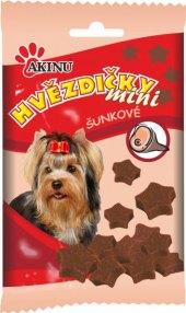 Pamlsky pro psy hvězdičky mini Akinu