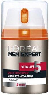 Krém pleťový pánský hydratační Vital Lift 5 Men Expert L'Oréal