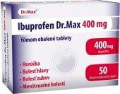 Tablety proti horečce a bolesti 400 Ibuprofen Dr.Max