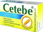 Vitamín C Immunity Plus Cetebe