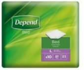 Inkontinenční podložky Depend