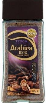 Instantní káva Arabica Tesco