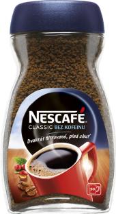 Instantní káva bez kofeinu Nescafé Classic