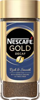 Instantní káva bez kofeinu Decaf Nescafé Gold