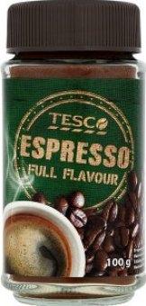 Instantní káva Espresso Tesco