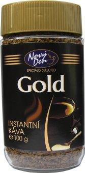 Instantní káva Gold Nový Den