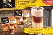 Instantní káva Latte Mokate To go! se sklenicí - dárkové balení