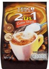 Instantní káva porcovaná 2v1 Tesco