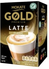Instantní káva porcovaná Latte Gold premium Mokate