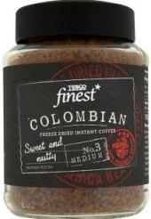 Instantní káva sušená mrazem Colombian Tesco Finest
