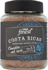 Instantní káva sušená mrazem Costa Rican Tesco Finest