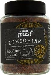 Instantní káva sušená mrazem Ethiopian Tesco Finest