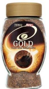 Instantní káva Gold Tesco
