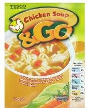 Instantní polévka &Go Tesco