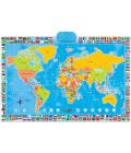 Interaktivní mapa světa Zanzoon