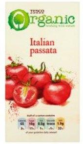 Rajčata pasírovaná Italská Tesco Organic