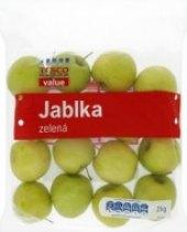 Jablka zelená Tesco Value