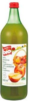Šťáva 100% jablečná s dužinou Naše Bio
