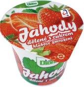 Zmrzlina jahody dělené s cukrem Dione