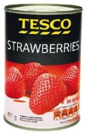 Jahody konzervované Tesco