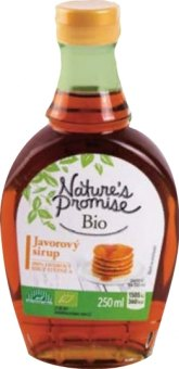 Javorový sirup bio Nature's Promise