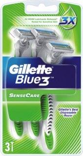 Jednorázová holítka pánská SenseCare Gillette Blue 3