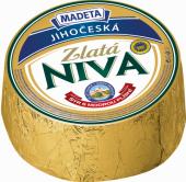 Sýr Niva zlatá Jihočeská 60% Madeta