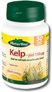 Doplněk stravy Jód kelp Naturline