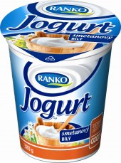 Bílý jogurt smetanový Ranko