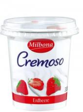 Jogurt krémový ochucený Milbona
