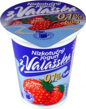 Jogurt nízkotučný ochucený z Valašska Mlékárna Valašské Meziříčí