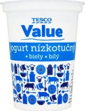 Jogurt nízkotučný Tesco Value