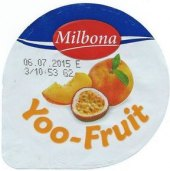 Jogurt ovocný Yoo Fruit Milbona