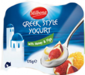 Ochucený jogurt smetanový řecký Milbona