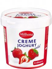 Jogurt smetanový ovocný Milbona