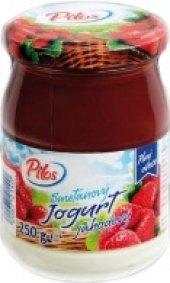 Jogurt smetanový plný ovoce Pilos