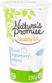 Jogurtový nápoj kozí Healthy life Nature's Promise