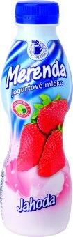 Jogurtový nápoj Merenda mlékárna Valašské Meziříčí