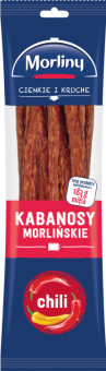 Kabanosy s chilli Morliny