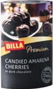 Kandované třešně Amarena v čokoládě Premium Billa