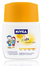 Mléko dětské na opalování kapesní Sun Nivea
