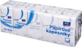 Kapesníčky papírové 3vrstvé Aro