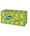 Papírové kapesníčky 3vrstvé Zewa Family - box