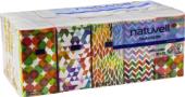 Kapesníčky papírové 4vrstvé Natuvell