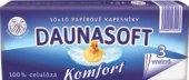 Papírové kapesníčky 3vrstvé Daunasoft