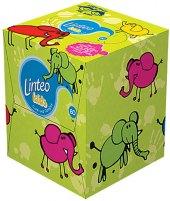 Kapesníčky papírové Kids Linteo - box