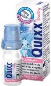 Kapky nosní hypertonický Baby Quixx