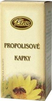 Kapky propolisové Pleva