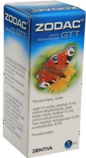 Kapky proti alergii Zodac