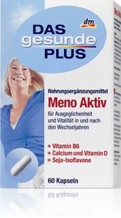 Doplněk stravy při menopauze Das gesunde Plus